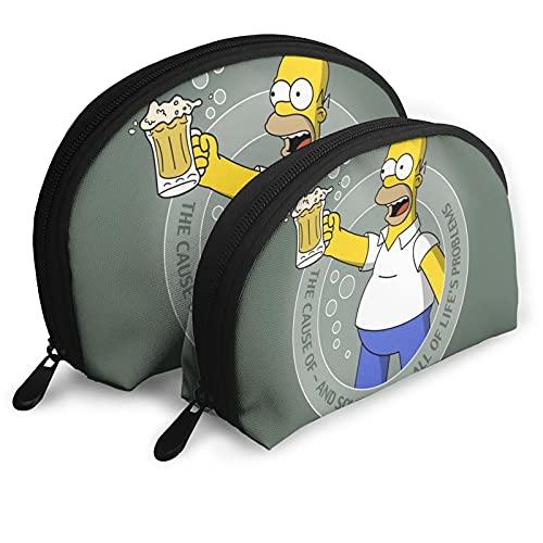 H-o-m-er S-i-m-p-s-on Shell Bolsa de almacenamiento Bolsa de almacenamiento Bolsa de lavado Bolsa de cosméticos para viajes y vida diaria