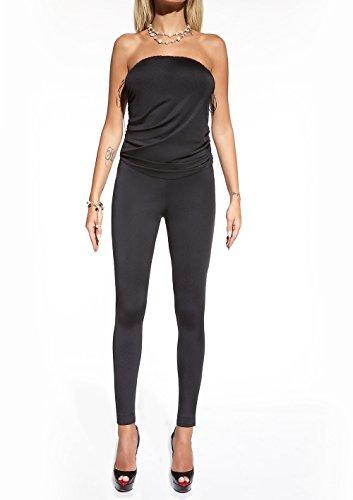 Kousen, blauw, bustier of leggings, rok met hoofdband, maat L, Taille S, zwart.