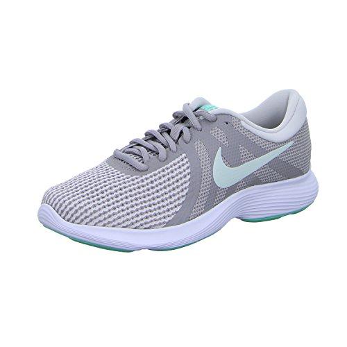 Nike Unisex-Erwachsene Zapatillas De Running WMNS Revolution 4 EU Atmosphere Barely Grey Va Fitnessschuhe, Mehrfarbig (Aj3491 007 Varios Colores), 39