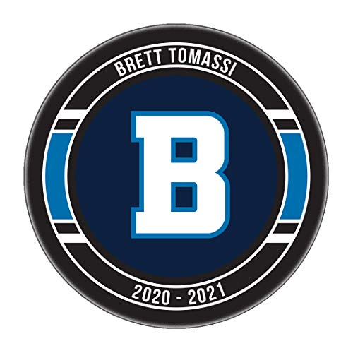 Tiger Tail Sports Personalized Hockey Puck