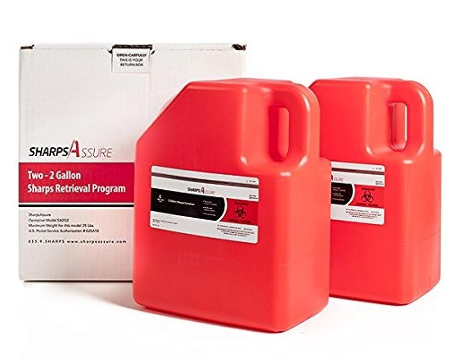 2 Gallon Sharps Retrieval Kit (2 pack) by SharpsAssure