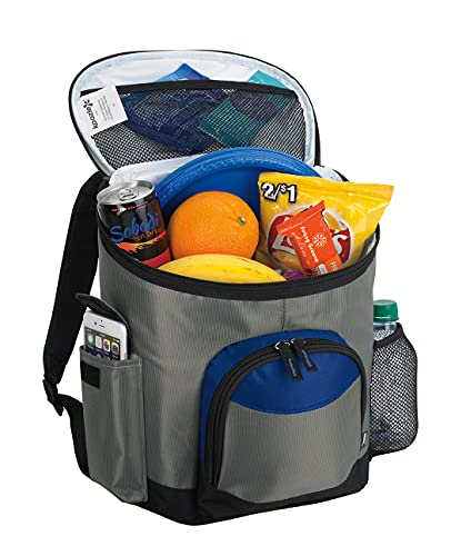 KOOZIE Picnic Backpack Insulated Cooler Bag | Holds 10 Cans | Lunch Box Cooler...