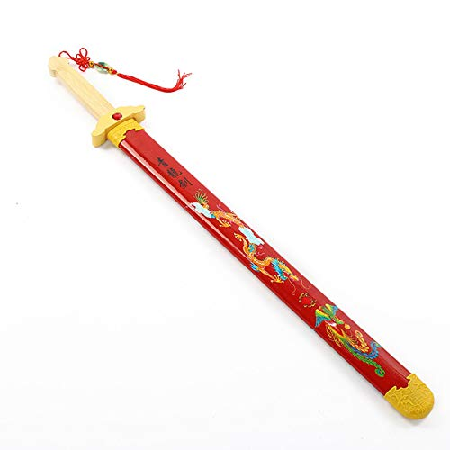 BKCYL Modelo de Arma de Apoyo de Espada de bambú, para Accesorios de Cosplay, Juguetes, Espada, Juguetes Decorativos para Armas