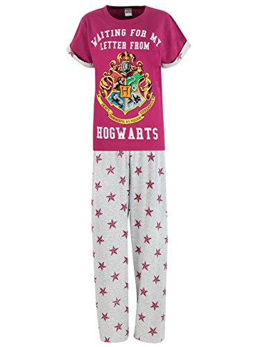 HARRY POTTER Pigiama per Donna Hogwarts Multicolore Large