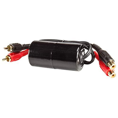 tomzz Audio 5800-081 Cinch NF Entstörfilter Masseentkoppler Ground Loop Isolator 20-20.000Hz.