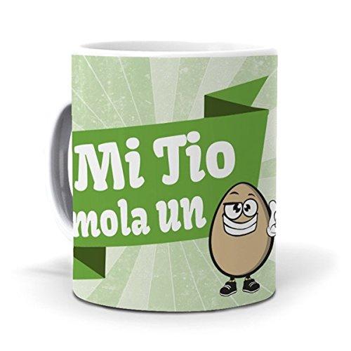 mundohuevo Taza Mi tio Mola un Huevo Version