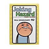 Deck Enhancement 2 - The second expansion of Joking Hazard Comic Building Card - Party Game by Cyanide and Happiness for 3-10 players , Yellow, 2.5 x 1.5 x 3.6'