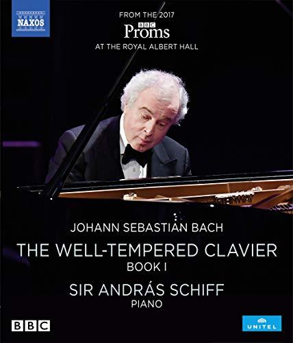 J. S. Bach: Das Wohltemperierte Klavier,Band 1 (Sir András Schiff) [Blu-ray]
