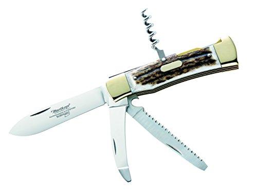 Hartkopf Erwachsene Jagd-Taschenmesser, braun, One Size