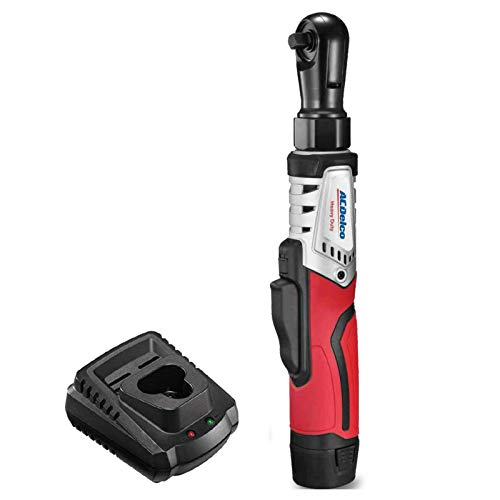 """ACDelco ARW1210-3P G12 Series 12V Cordless Li-ion 3/8"""" 65 ft-lbs. Brushless Ratchet Wrench Tool Kit"""