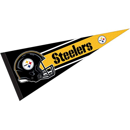 WinCraft Pittsburgh Steelers Official 30 inch Large Pennant