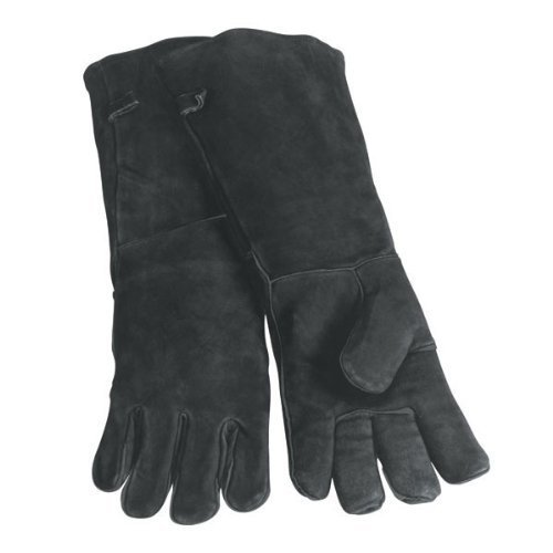 Woodeze Heat Resistant Hand Protective Wood Stove Fireplace Hearth Long Arm Gloves - 20 Long -...