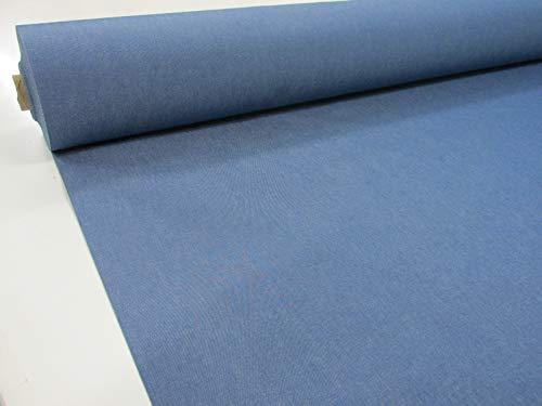 Confección Saymi Metraje 0,50 MTS. Tejido Lona acrílica, Color Azul Vaquero, con Ancho 3,20 MTS.