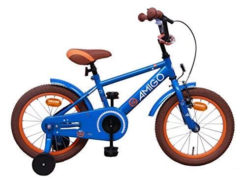 Amigo Sports - Bicicleta Infantil de 16 Pulgadas - para niños de...