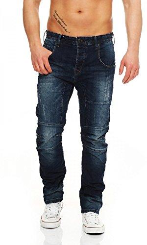 Big Seven Jayden Dark Aged Regular Fit Herren Jeans, Hosengröße:W46/L32
