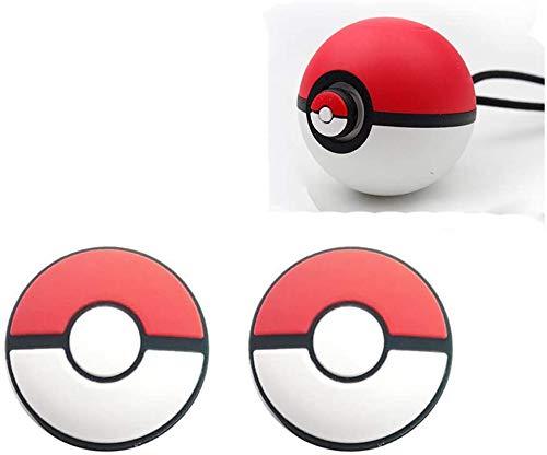 Puños antideslizantes de silicona para pulgar para Nintendo Switch Poke Ball Plus Pokeball NS Baoke Dream Elf Ball Plus controlador de repuesto