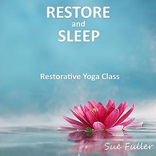 Restore and Sleep audiobook cover art