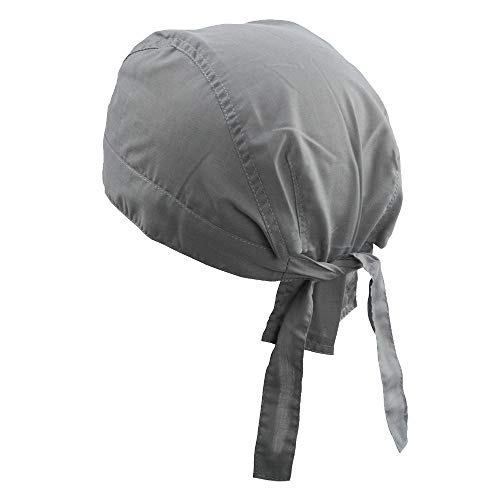 Myrtle Beach Kopftuch für Herren, grau - Dark Grey - Größe: Taglia unica
