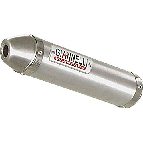 Auspuffanlage Giannelli Endtopf Aluminium mit ABE für Derbi