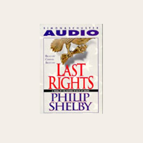 Last Rights audiobook cover art