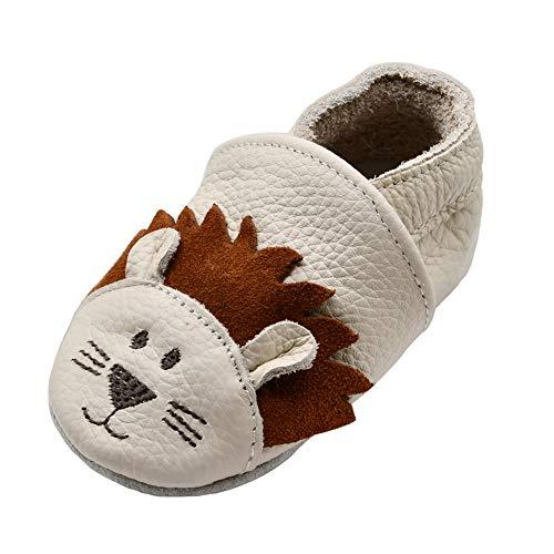 iEvolve Bebé Niñas Niños Zapatos de Bebé Bebé Suela Suave Zapatos de Cuero Zapatos de Bebé Caminar Zapatos de Gateo Zapatos Varias Opciones, color, talla 0-6 meses