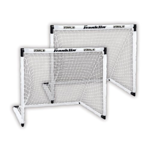 Franklin Sports MLS Two Soccer Goal Set - 54 x 36 Inch