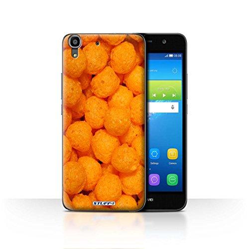 Var voor HUAY-CC Snacks Huawei Y6 Kaas Puffs
