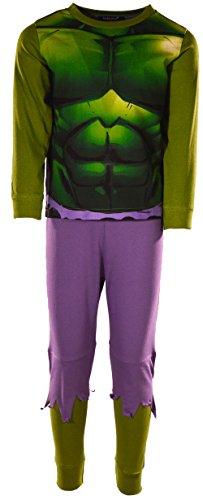 Hulk Pijama para niños y niñas de 2 a...