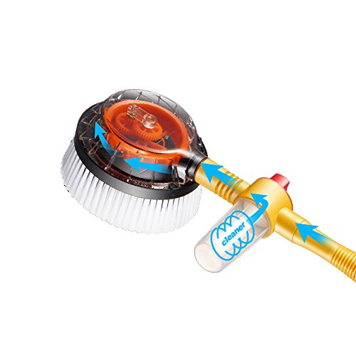 ATMOMO Car Pressure Washer Rotating Wash Brush Vehicle Care Washing Sponge Cleaning Tool
