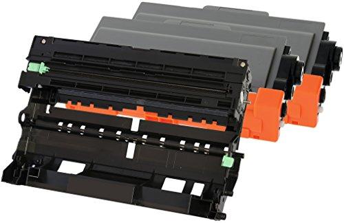 TONER EXPERTE® 2 Toner mit Trommel kompatibel zu Brother TN3380 & DR3300 für HL-5440D HL-5450DN HL-5470DW HL-5480DW HL-6180DW MFC-8510DN MFC-8520DN MFC-8950DW MFC-8950DWT DCP-8110DN DCP-8250DN