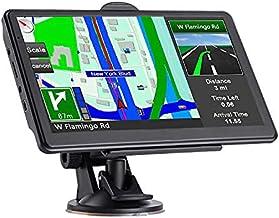 Navegación GPS para coche, mapas 2021 con actualización gratuita de por vida, alertas del conductor Último mapa de pantalla táctil 7 pulgadas 8G 256M sistema de navegación con guía de voz y advertencia de cámara de velocidad,