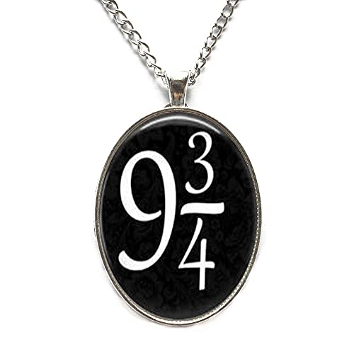 Collar 9 3/4, collar de nueve cuartos, collar minimalista, collar delicado, collar simple, N245