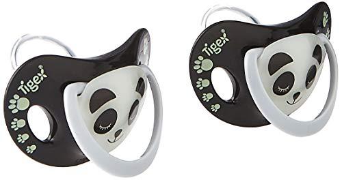 Tigex – 2 chupetes Smart Night fosforescentes Talla:6-