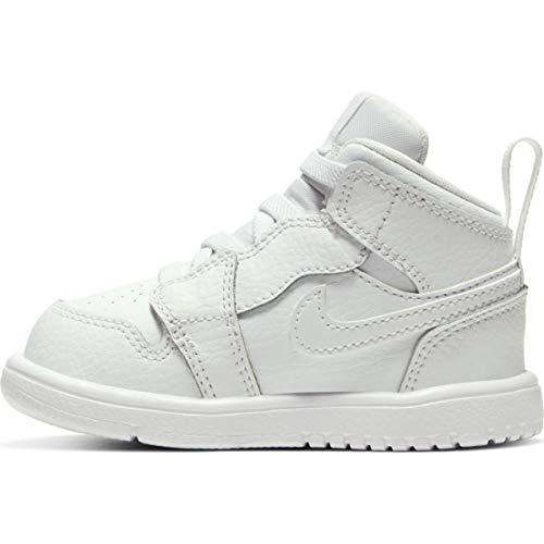Nike Jordan 1 Mid Alt Td Sneakers voor kinderen, uniseks, maat 34 EU