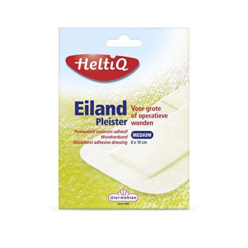 Heltiq Eilandpleisters, 8cm x 10 cm, 5 Stuk