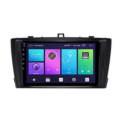 Android Auto Car Estéreo para Toyota Avensis 2009-2015 Unidad de cabeza SAT NAV Multimedia Player Radio Receptor GPS Navegación Toque Pantalla táctil con 4G WiFi Espejo Enlace,8 core 4g+wifi: 2+32gb