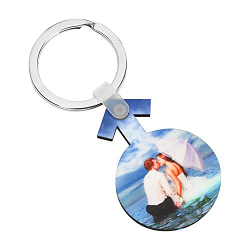 Personalized Keychain with Your Photo Custom Keychain Engraved Metal Personalized Pendant Printing Text & Image Key Accessory Personalize Christmas Birthday Gift