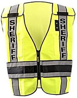 Occunomix LUX-DPSS-DOR-R Vest, Deluxe Public Safety DOR, Breakaway, Sheriff, M-XL