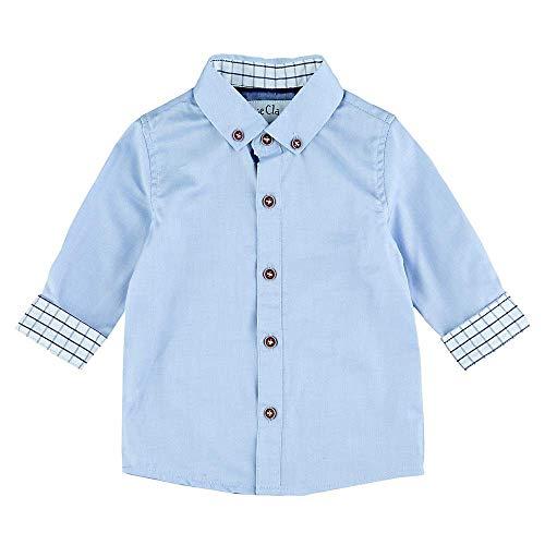 Feetje Chemise classique à manches longues pour bébé garçon - Bleu - 24 mois