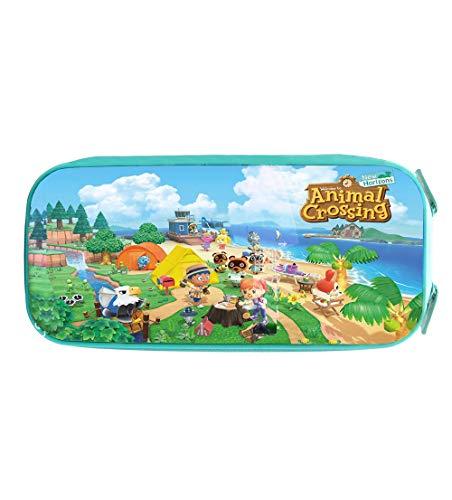 Animal Crossing Estuche de Lápices La Caja de lápiz Estudiante Impreso 3D lápiz Bolsa niños papelería Bolsas de cosméticos Bolsas de Dibujos Animados Bolsas de Papelería