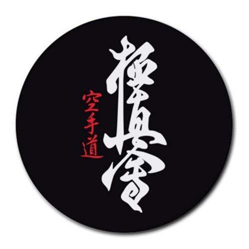 Kyokushin Kaikan Karate Kanku Symbol Benutzerdefinierte Runde Mauspad