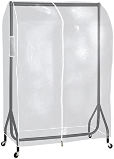 La Tringle à vêtements vêtements ® 4M long Transparent Housse de protection pour vêtements à suspendre pour rails