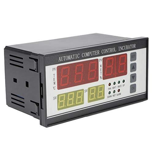 Fybida El Controlador automático de la incubadora de 220 V Mejora la eficiencia de la incubación Termostato de la incubadora fácil de Usar para la incubación