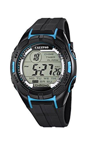 Calypso watches K5627/2 - Reloj de Pulsera Hombre, plástico, Color Negro
