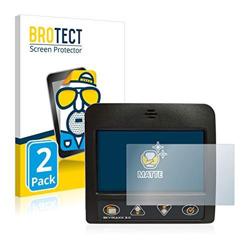 BROTECT 2X Entspiegelungs-Schutzfolie kompatibel mit Skytraxx 3.0 Vario Bildschirmschutz-Folie Matt, Anti-Reflex, Anti-Fingerprint