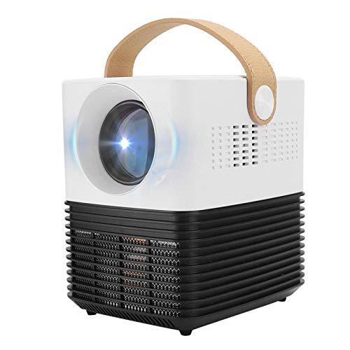 Mini proyector, 1080P 2500lm LED Proyector de Bolsillo, con módulo avanzado Batería...