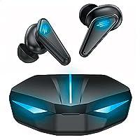 BINDEN Audifonos Gamer Dark Manta Audifonos Inalambricos TWS Bluetooth 5.1 con Estuche de Carga hasta 10 hrs de Batería...
