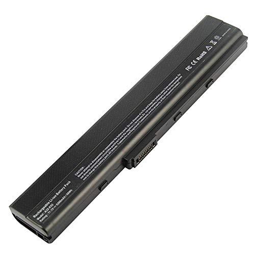 onlyguo 11.1V 5200mAh A42-K52 Reemplazo de batería para Laptop ASUS A52 K42 K52 Series A31-K52 A32-K52 A41-K52 A42-K52