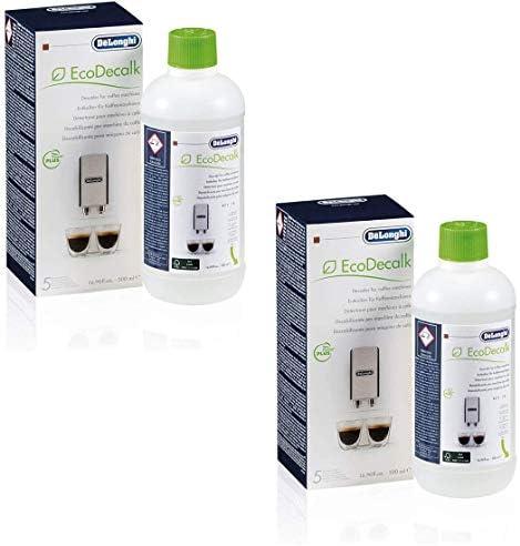 Set pulizia anticalcare Delonghi SER3018/500/ml//Delonghi SER3017/ /Filtro dell acqua 2xDeLonghi Entkalker500ml 2xDelonghi Wasserfilter