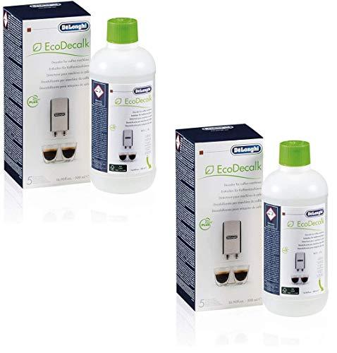 DeLonghi SER3018 Détartrant écologique pour machine à café 500ml (2 Pack)